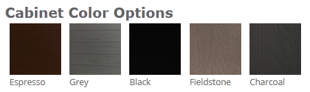 S103 Hot Tub Cabinet Colour Options