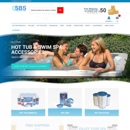 SBS Hot tubs and Spas Accessories Online Shop