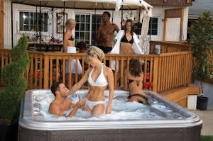 hot tubs with 3 seats, 4 seats, 5 seats and more